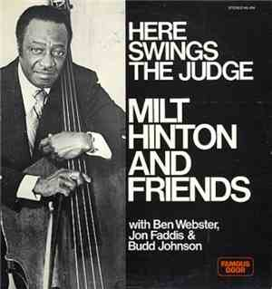 Milt Hinton -Here Swings the Judge (1975)