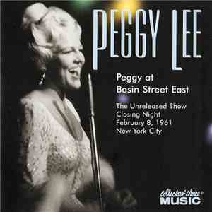 Peggy Lee - Peggy At Basin Street East (2002)