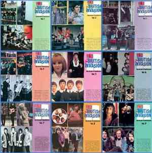 VA - The British Invasion ~ History Of British Rock Vol.1-9 (1988-1991) Los ...